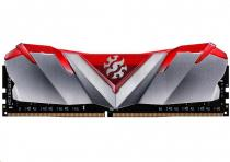 A-Data DIMM DDR4 8GB 3200MHz CL16 XPG GAMMIX D30 memory, Bulk, Red
