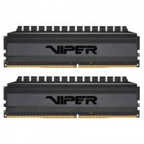PATRIOT Viper 4 Blackout Series 16GB DDR4 3600 MHz / DIMM / CL18 / Heat shield / KIT 2x 8GB