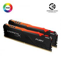 KINGSTON 32GB 2666MHz DDR4 CL16 DIMM (Kit of 2) FURY RGB
