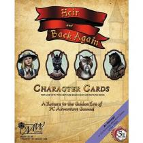 AAW Games Heir & Back Again 5th Edition Character Cards