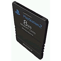 Memory Card 8Mb Doublepack (PlayStation 2)