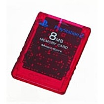 Memory card 8MB Sony Red (PlayStation 2)