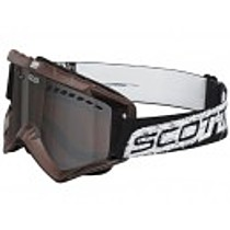 SCOTT 89 Xi BROWN SILVER CHROME