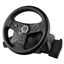 Volant Logitec Rally Vibration Feedback PS2 (PlayStation2)
