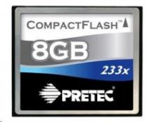 PRETEC Cheetah CompactFlash 233x 8GB