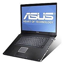 ASUS W2P, T72, 2x1GB, 160GB, DVDRW, X17, BT, W, TV, 17""
