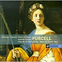 Purcell: Odes for St. Cecilia's Day, Music for Queen Mary