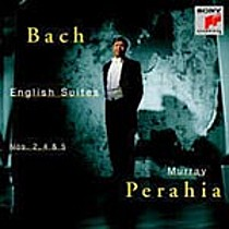 Bach: English Suites Nos. 2, 4 & 5, Murray Perahia