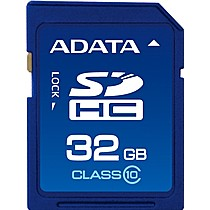 A-DATA 32GB Secure Digital SDHC CLASS 10