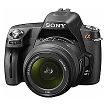 Sony A290 + 18-55 mm + 55-200 mm