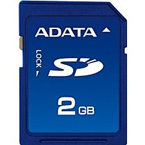 A-DATA 2GB SD Card Speedy