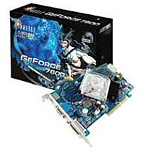 Sparkle GeForce 7600GS Ultra II, 256MB DDR2, 128-bit, DVI, TV-out, 8xAGP