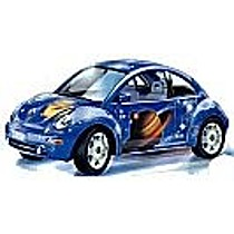Bburago VW New Beetle Space (1998)