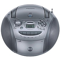 Grundig RRCD 2420 MP3 chrome/vero