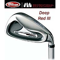 Wilson DEEP RED III IRONS 3-SW