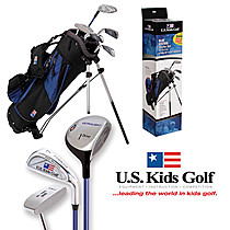 US Kids Golf Blue Starter Set (6-8 years)