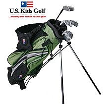 US Kids Golf Girls Lime Starter Set (9-11 years)