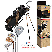 US Kids Golf Gold Starter Set (ages 11 & up) Championship Set