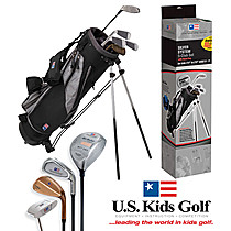 US Kids Golf Silver Starter Set (ages 9-11) Championship Set
