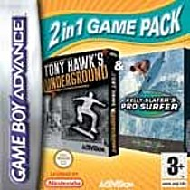 Double pack Tony Hawk Underground and Kelly Slater