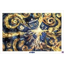 POSTERS DOCTOR WHO exploding tardis plakát 91 x 61 cm