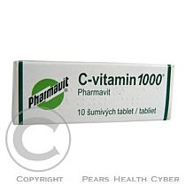 Bender C-VITAMIN 1000 PHARMAVIT 10X1000MG