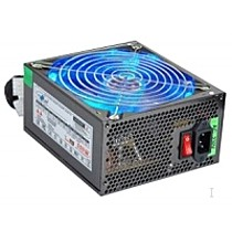 EUROCASE zdroj 500W, 14cm color fan, PFC