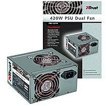 TRUST PW-5210 420W PSU DF, 24pin, 33dB,2xfan