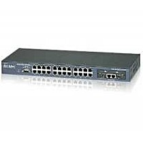 OvisLink SNMP-FSH2602MG Switch, 24+2-port, 10/100/1000MB