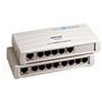 Repotec 1708K Switch, 8-port, 10/100MB