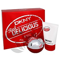 DKNY Be Delicious Red - dárková sada EdP 50 ml