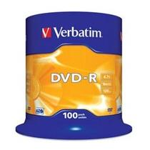 Verbatim DVD-R, 16x, 100-spindle