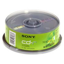Sony CD-R 700MB, 48x, cake box