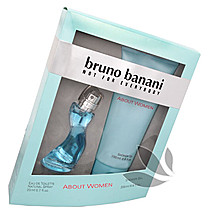 Bruno Banani About Woman - dárková sada EdT 20 ml