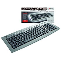 Trust Slimline Keyboard KB-1400S, PS/2, USB
