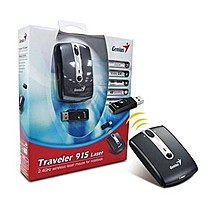 Genius Traveler 915, USB, 2,4GHz wireless laser, 1600DPI