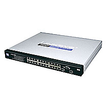 Cisco 24xGiga Switch,WebView,PoE,SNMP, SRW2024P