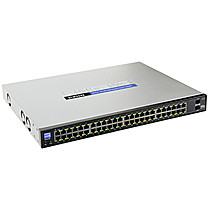Linksys 48xGiga Smart Switch + 2xSFPs SLM2048