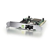 Level One FNC-0103FX Fiber 100Mbps PCI Adapter Fiber Optic ST-Duplex
