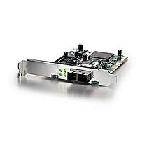 Level One FNC-0104FX Fiber 100Mbps PCI Adapter Fiber Optic SC-Duplex