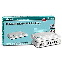 Micronet Broadband Router w. Print Server SP888BP