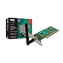 Digitus WLAN PCI Adapter,108Mbps super G, Atheros Chip