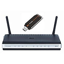 D-LINK DKT-400 Wireless N Home Router Kit (Router + USB dongle)