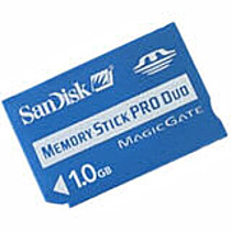 Sandisk Memory Stick 1024MB PRO DUO