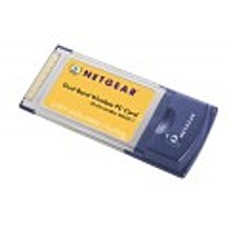 NETGEAR - ProSafe Dual Band Wireless PC Card